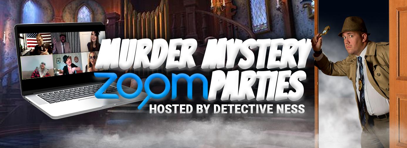 Murder Mystery Zoom Parties